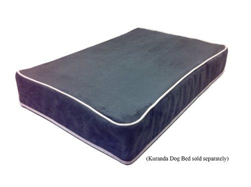 Kuranda Slip Cover - XL - 44 x 27 - Suede - Smoke