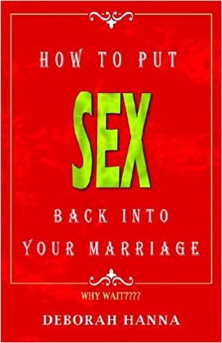 Bring sex back into marriage