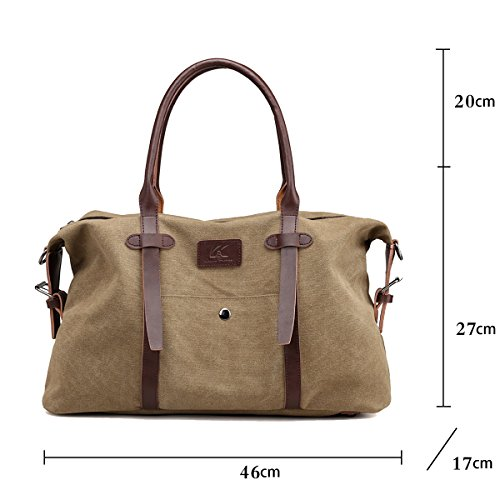 Large Boston SDINAZ Bags Brown Strap Women's Casual Bag Lightweight Shoulder Handbags with Shoulder Khaki fR5RqxB