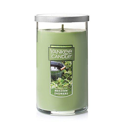 Yankee Candle Meadow Showers Medium single-Wick Tumbler Candle ,Festive Sent
