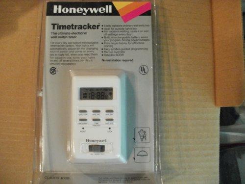 UPC 085267877053, Honeywell Timetracker Ultimate Electronic Wall Switch Timer CL600B 1009