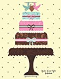 img - for Sketchbook Make Your Style: Cake Sketchbook Volume 1 (Blank Paper for Drawing) - Practice Drawing, Sketching, Doodling, Journal, Sketch Pad - 120 pages of 8.5