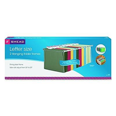 Smead Hanging File Folder Frame, Letter Size, 2 Pack (64870)
