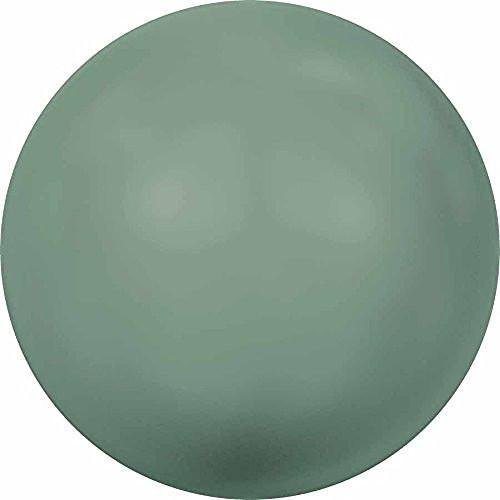 Swarovski Jade Bracelet - 5818 Swarovski Pearls Round Half Drilled Crystal Jade Pearl | 6mm - Pack of 500 (Wholesale) | Small & Wholesale Packs