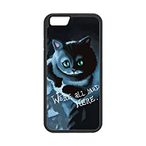 iPhone 6 case - [Cheshire Cat Series] case for Apple iPhone 6 case PC and rubber TPU cover case,Silicone Case Cover for Apple iPhone 6 (4.7