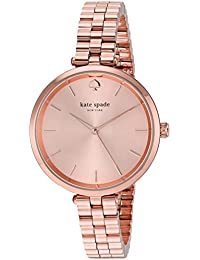 Womens Holland Quartz Stainless Steel Casual Watch, Color Rose Gold-Toned (