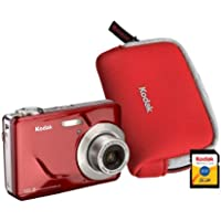 EasyShare CD80 Red 10.2MP Digital Camera Advantages Review Image