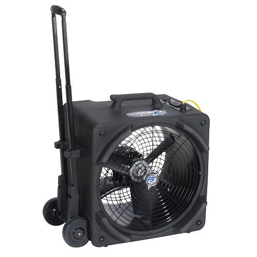 Powr-Flite PDF5DX 1/4 Hp Axial Floor Dryer With Handle And Wheels