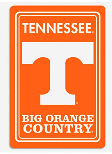 (BSI NCAA 12'' x 18'' Metal Sign (Tennessee Volunteers))