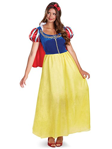 Disguise Costumes Snow White Deluxe Costume, Adult, Small (4-6) -