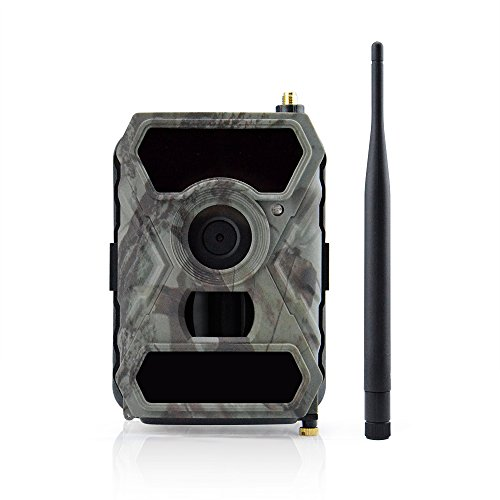 Uboway 3G Wireless Trail Camera 12MP AT&T 1080p HD with Night Vision for Hunting & Monitoring