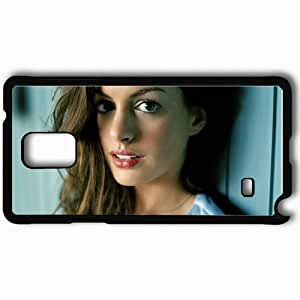 Personalized Samsung Note 4 Cell phone Case/Cover Skin Anne Hathaway Movie Black hjbrhga1544