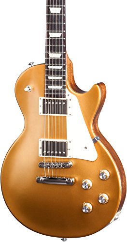 Gibson USA LPTR17SGNH2 Les Paul Tribute T 2017 Solid-Body Electric Guitar, Satin Gold Top, Medium