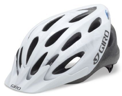 Bike, Cycling, Bicycle Giro Indicator Bike Helmet (White/Silver Explosion, Universal Fit) Cycle Gear, Bicycling