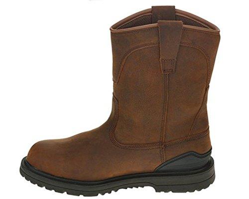 Herman Survivors Men's Bison Steel Toe Waterproof Work Boot (10.5) Brown