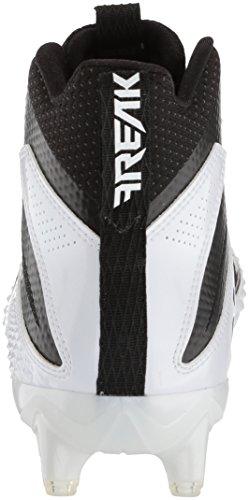 Uomo Carbon per Freak nero Mid americano football X Adidas Scarpa Bianco nero Xw8qxBEWF