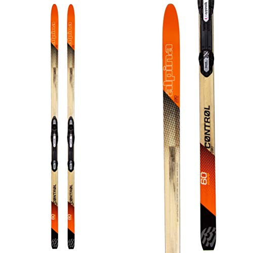 Alpina Sports Control 60 with NNN Auto Tour Binding, Orange, 180cm