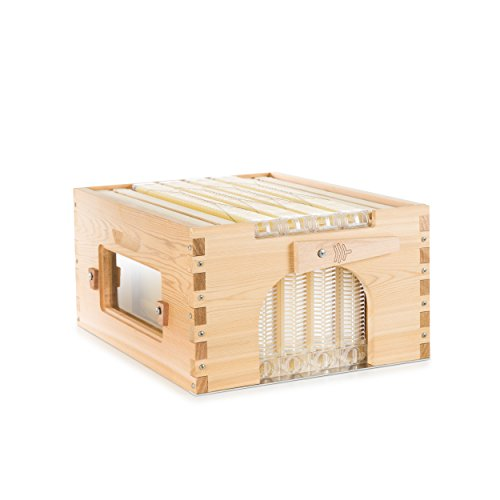 Official Flow Hybrid Cedar 4 Frame - beehive super featuring patented Flow tech, fits a 10 frame Langstroth style hive ()