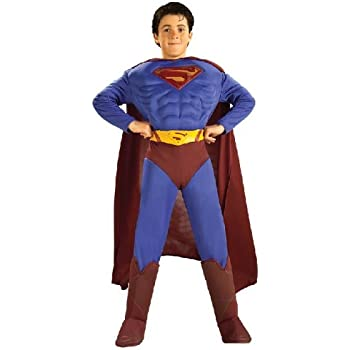 Amazon.com: Rubies DC Universe Superman Costume, Child ...