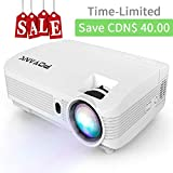 2019 POYANK 3600LUX Projector, HD Video Projector with 1280*768 Native Resolution, 1080P Supported
