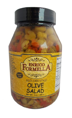 Enrico Formella Hot Olive Salad 32oz.