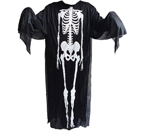 Halloween Party Scary Skull Crazy Scared Ghost Mask Skeleton Mask Scream Costume (Homemade Chicken Costume Hat)