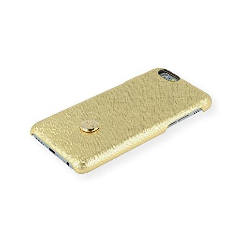 QIOTTI QX-C-0930-01-IP6 Snapcase Q.Snap Premium Echtleder für Apple iPhone 6/6S gold