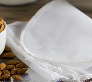 Premium Nogal Leche Bolsa/ – Trapo para hacer leche vegana alternativas de 100% nailon