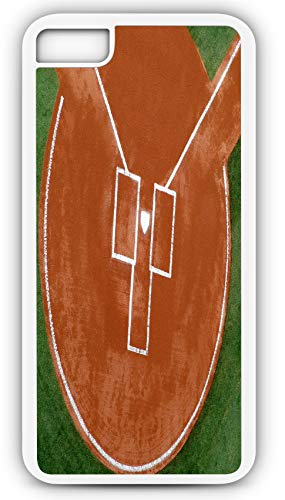 iPhone 8 Case Baseball Batters Box Strike Zone Steal Home Customizable by TYD Designs in White - Steal Eggs
