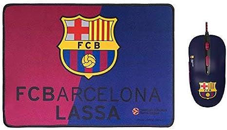 Mars Gaming BLBC1 - Pack de ratón y alfombrilla del FC Barcelona ...