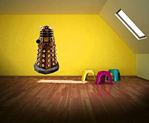 Doctor Who: Augmented Reality Wall Sticker   Large Dalek Part 82