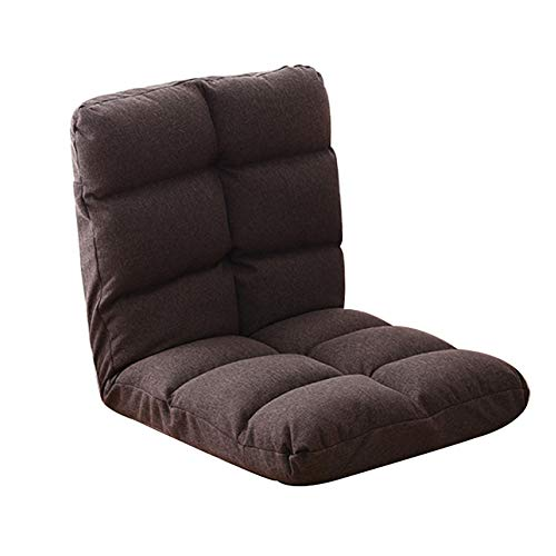 Amazon.com: Floor Chair Lazy Couch Chair Single Sofa Bed ...