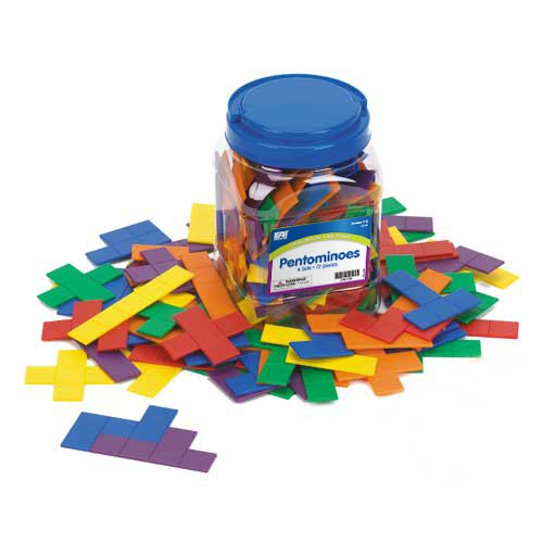 EAI Education Pentominoes: 6 Sets (Pentominoes Set)