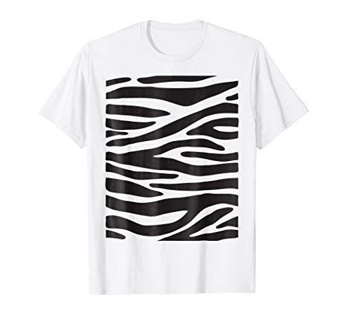 Zebra Animal Halloween DIY Costume Funny Shirt -