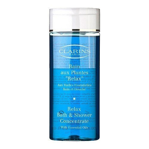 Clarins Relax Bath & Shower Concentrate 6.8oz, 200ml Bath Body Cleanser NEW