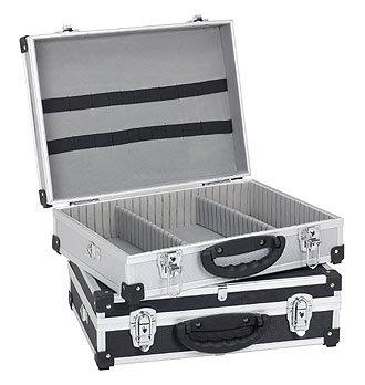 Blau Aluminium Schl/üssel Werkzeugkoffer Werkzeugkiste 42,5x30,5x12,5 cm