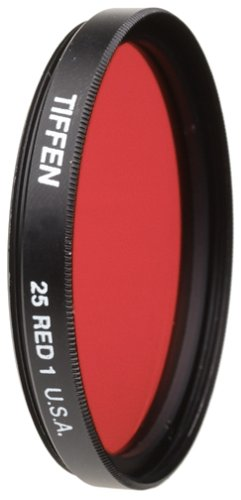 Tiffen 52mm 25 Filter (Red)