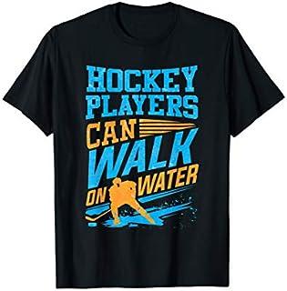 Birthday Gift Hockey Lover  Hockey Players Walk on water Hockey Tee Long Sleeve Funny Shirt