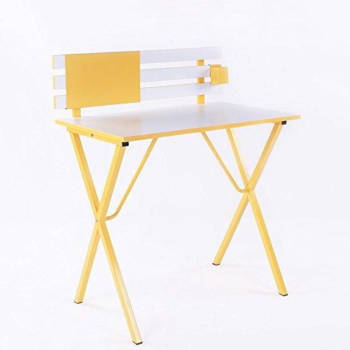 réglable Table pliante / Bureau multifonctionnel / Bureau d'ordinateur / Petit bureau / Table de rangement / 80 * 75CM Peut être tourné