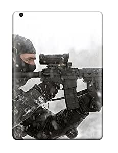 Excellent Ipad Air Case Tpu Cover Back Skin Protector Assault Rifle