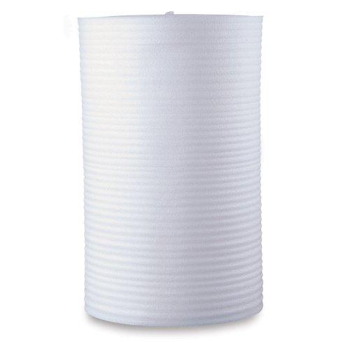 "48"" Wide Foam Cushioning In Perforated Foam Rolls - Two 24""W Rolls - 48""X2000' - -1/32"" Thick"