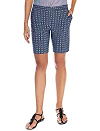 Ladies Bermuda Short Blue Pattern Size 12