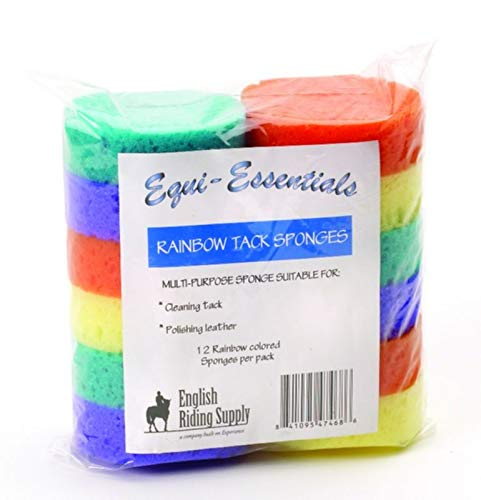 (Equi-Essentials Rainbow Tack Sponges)