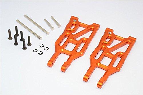 Suspension Set Arm Hpi - HPI Bullet 3.0 Nitro & Bullet Flux Upgrade Parts Aluminum Front Suspension Arm - 1Pr Set Orange