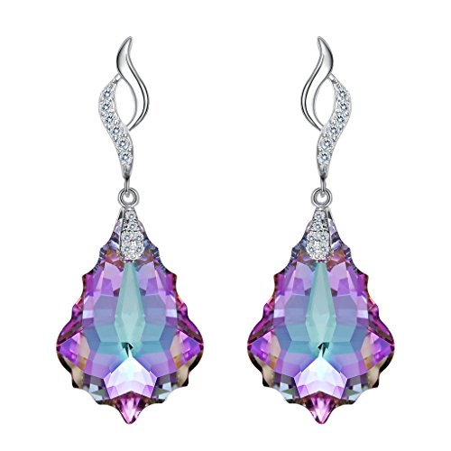 elequeen-925-sterling-silver-cz-baroque-drop-leaf-dangle-earrings-vitrail-light-adorned-with-swarovs