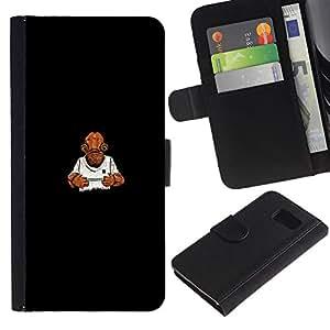 YiPhone /// Tirón de la caja Cartera de cuero con ranuras para tarjetas - Es una trampa - Gracioso - Sony Xperia Z3 Compact