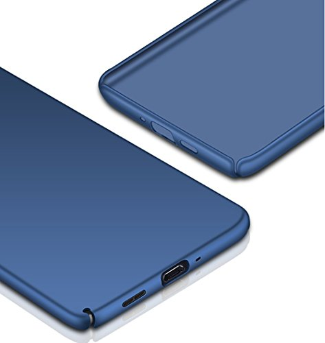 SMTR Nokia 6 Funda, Calidad Premium Cubierta Delgado Caso de PC Hard Gel Funda Protective Case Cover para Nokia 6 -Oro rosa Negro
