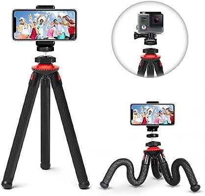 Teléfono trípode, eloki Flexible iPhone trípode/trípode de cámara ...
