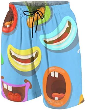 キッズ ビーチパンツ かわいい モンスター サーフパンツ 海パン 水着 海水パンツ ショートパンツ サーフトランクス スポーツパンツ ジュニア 半ズボン ファッション 人気 おしゃれ 子供 青少年 ボーイズ 水陸両用