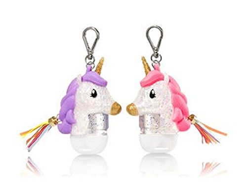 Bath Duo - Bath and Body Works BFF Unicorn PocketBac Hand Sanitizer Holder Duo Magically Meant To Be